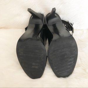 Zara Shoes - Zara Trafaluc Black Strappy High Heel Sandals 7
